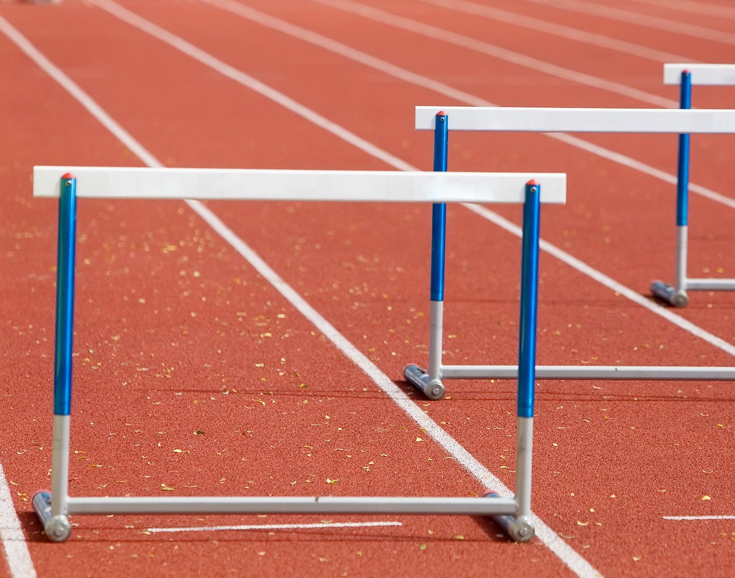 Running with Hurdles